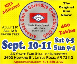 AGCCC Little Rock Gun & Knife Show