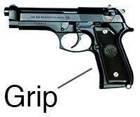 Beretta M9 Grip