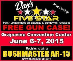 Grapevine Convention Center Gun Show