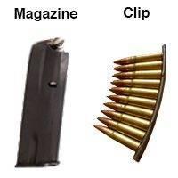 Magazine vs Clip