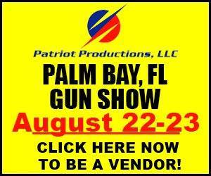 Palm Bay, FL Gun Show - August 22-23, 2015