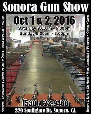 Sonora Gun Show - Oct 2016