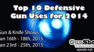 Top Ten Defensive Gun Uses For 2014