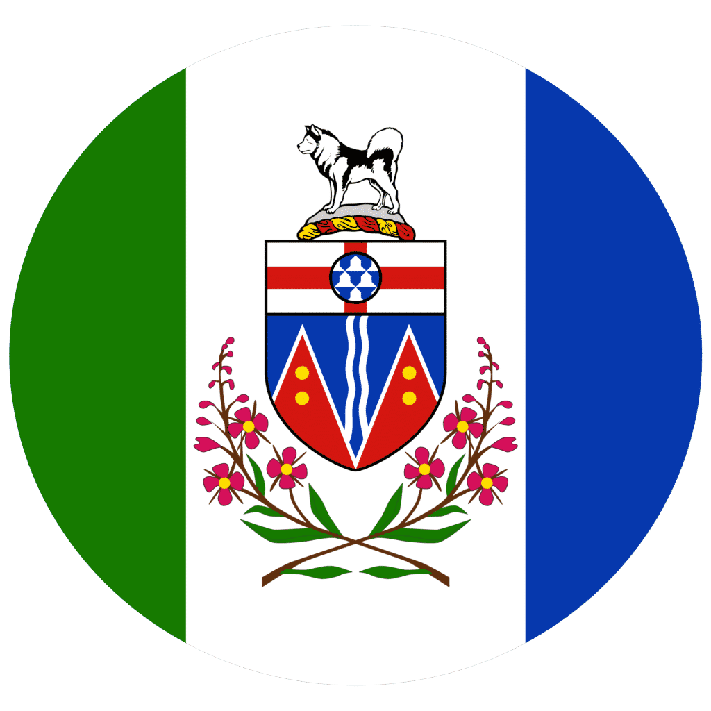 Yukon flag icon